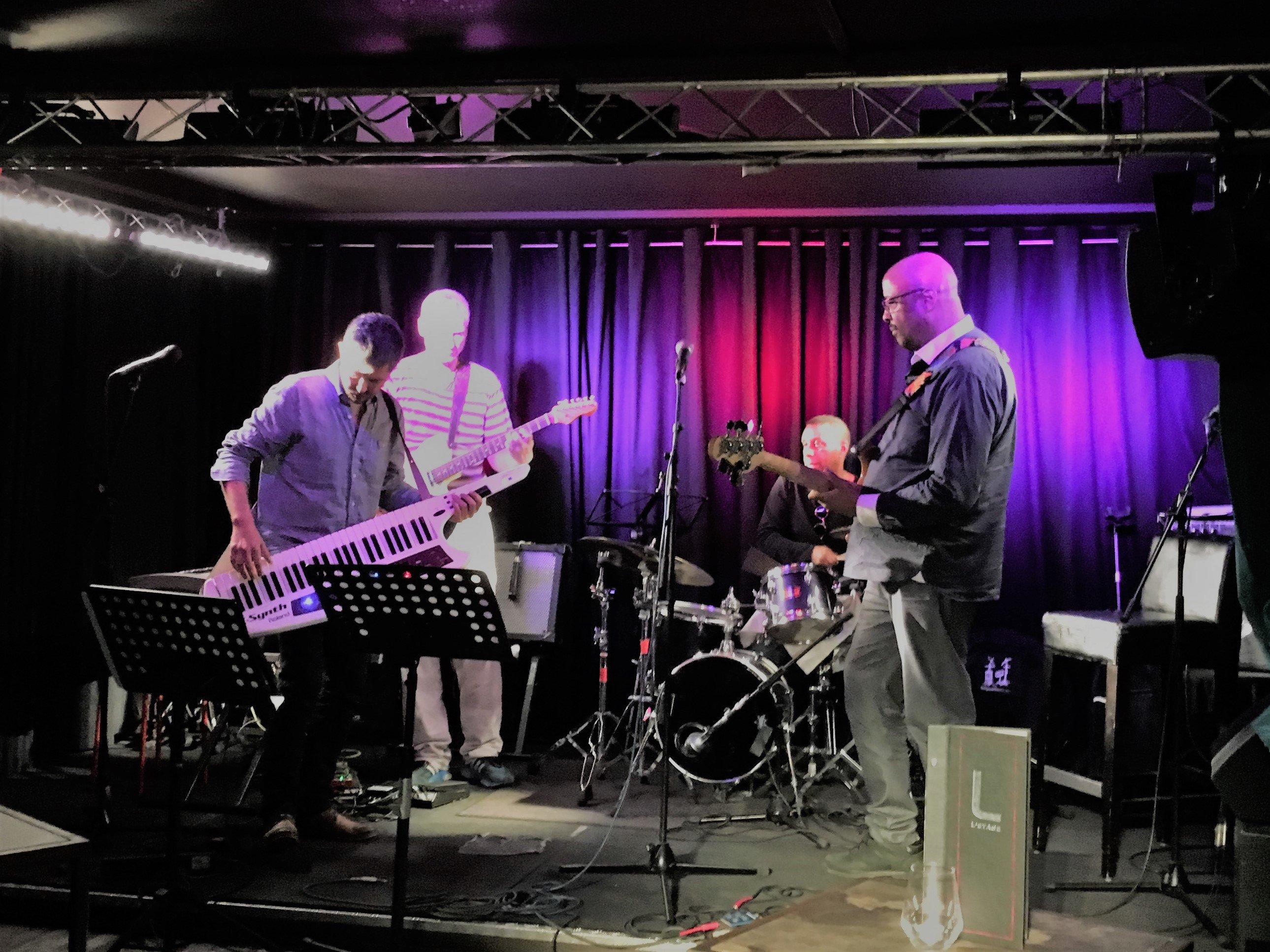 jazz à l'étage ( Belleville)
